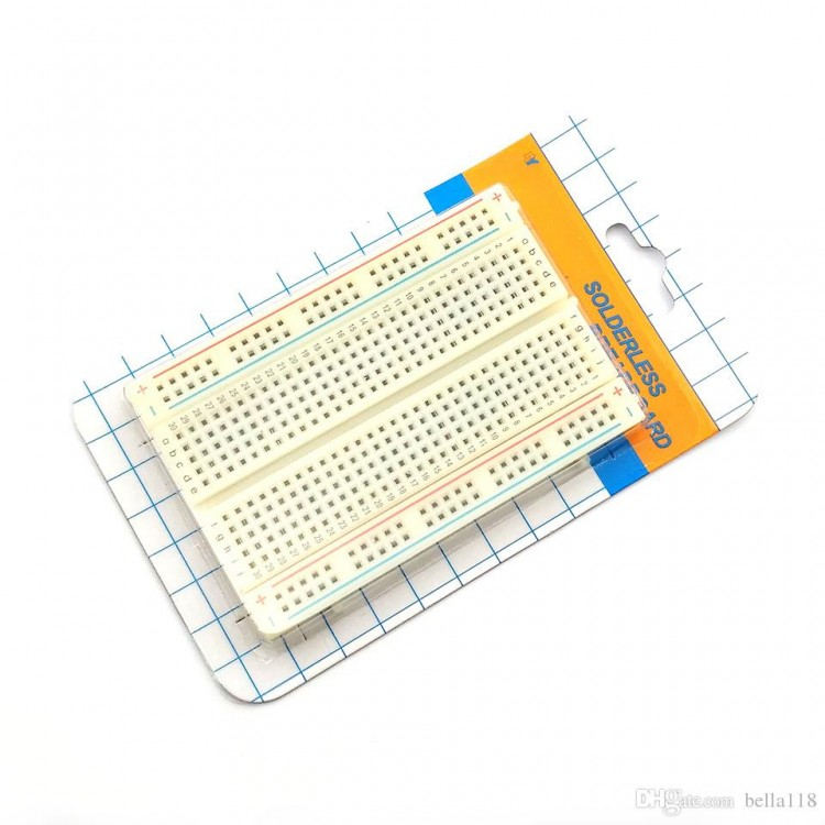 Mini Bread Board 8.5CM x 5.5CM 400 holes