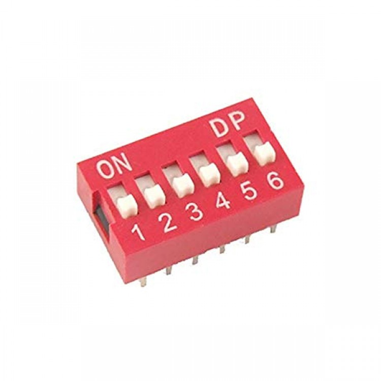 DIP Switch 6 Position