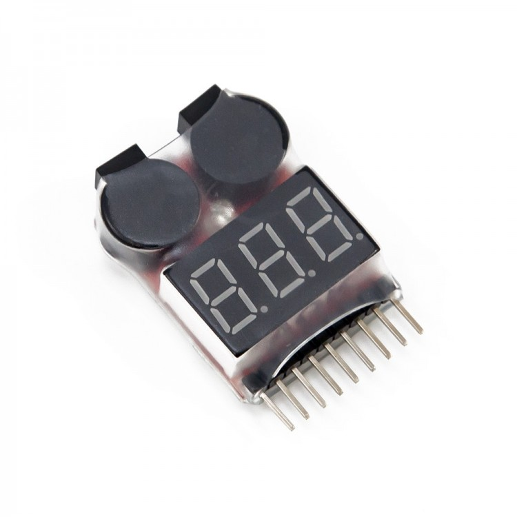 Lipo Battery Voltage Tester_1-8S