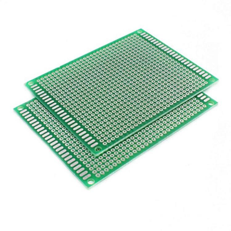 Dot Vero Board 7cm*9cm_Double  Side Copper.