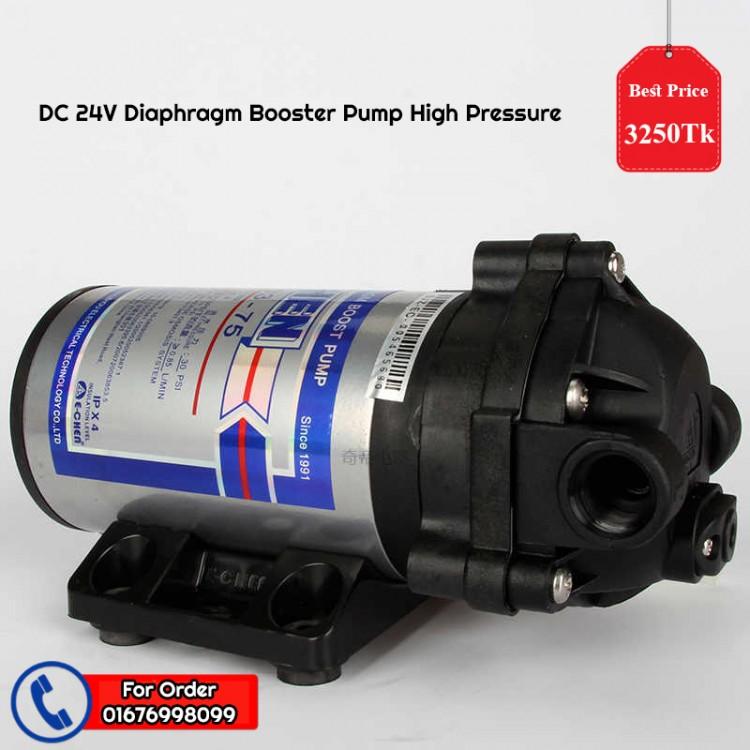 DC 24V Diaphragm Booster Pump High Pressure