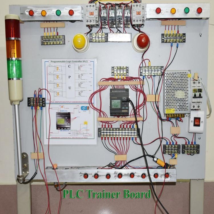 PLC Trainer Board.