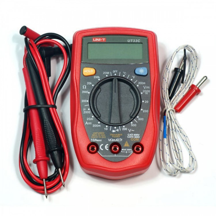 UT33C Multi-Functional Digital Multimeter
