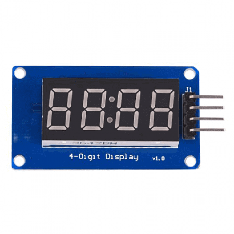 Seven Segment Display Module 4 Digit