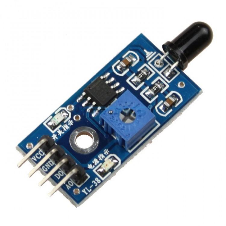 Flame Sensor Module Blue Color Single