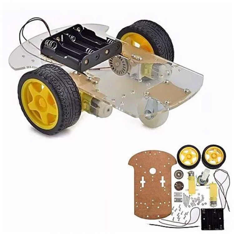 Robot Car Chassis_ Smart 2WD Car Chassis