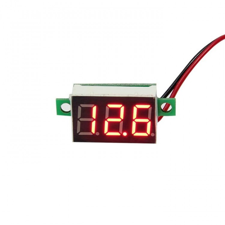 Digital DC Mini Volt Meter_Two Wire