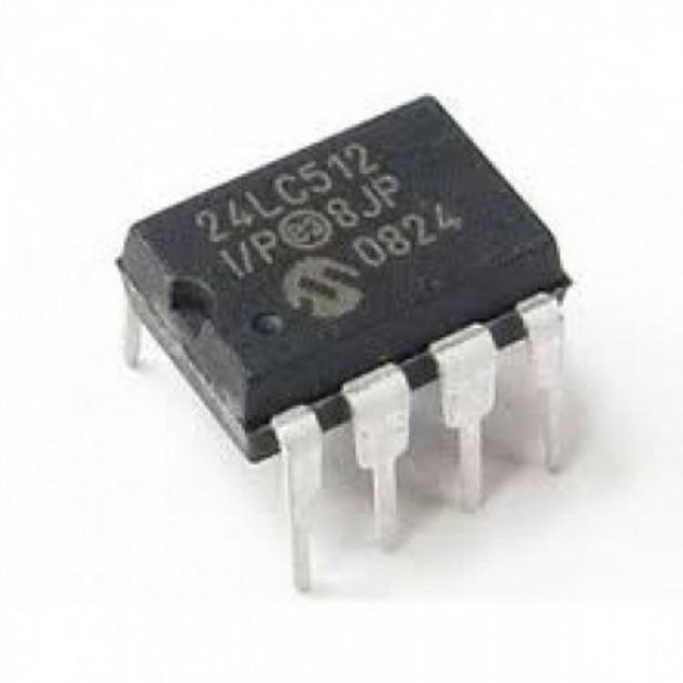 24LC512-I/P Microchip EEPROM