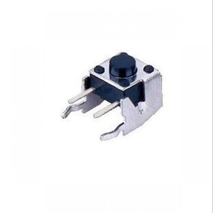 Tact Switch 90 Degree Bend Button Small