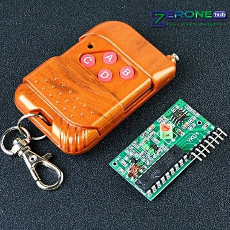 RF 315MHz 4 Channel Wireless Remote Control