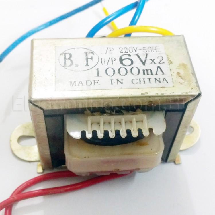 6V 1000mA Transformer
