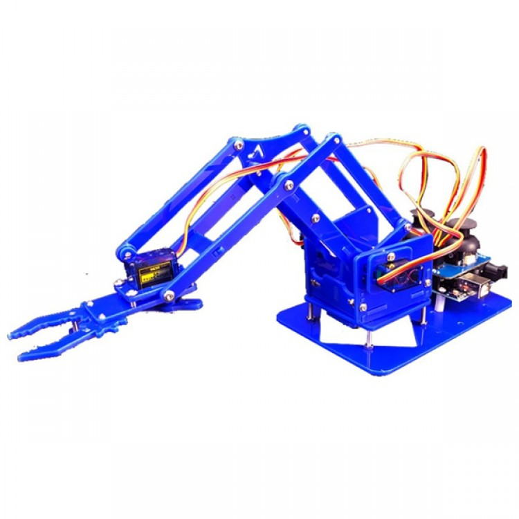 Robotic arm Learning kit Acrylic_4 Dof