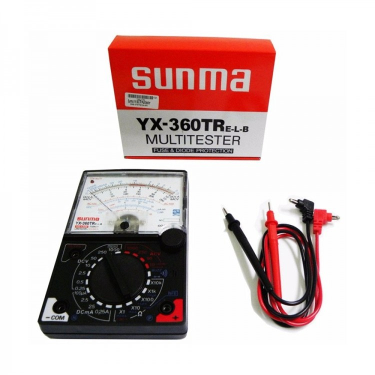 Sunma Analog Multimeter_YX-360TR
