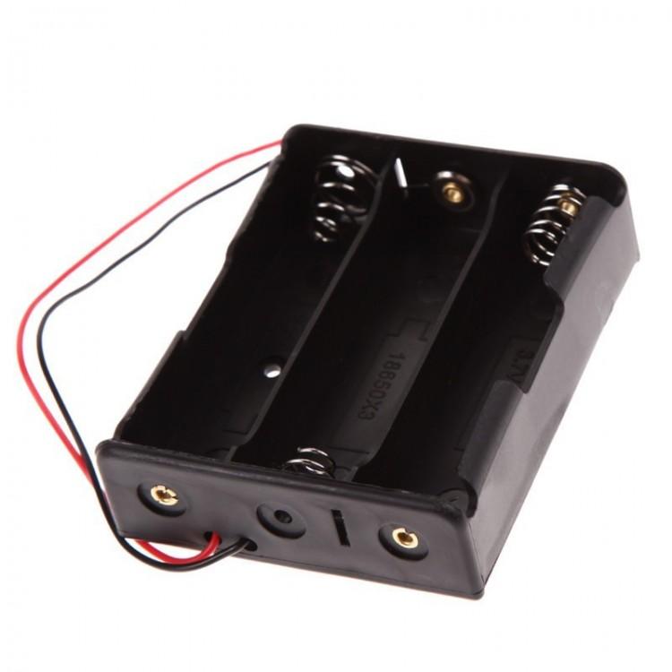 18651 Battery Holder_3-Cell