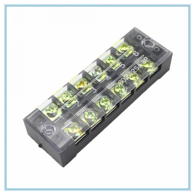 Electrical Dual Raw 6 pin/pole Terminal Block