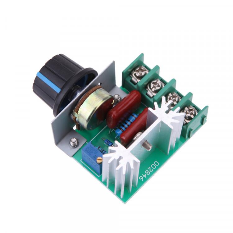 Adjustable Voltage Regulator Motor Speed Controller_2000W AC Motor Speed Controller 50A 50-220V