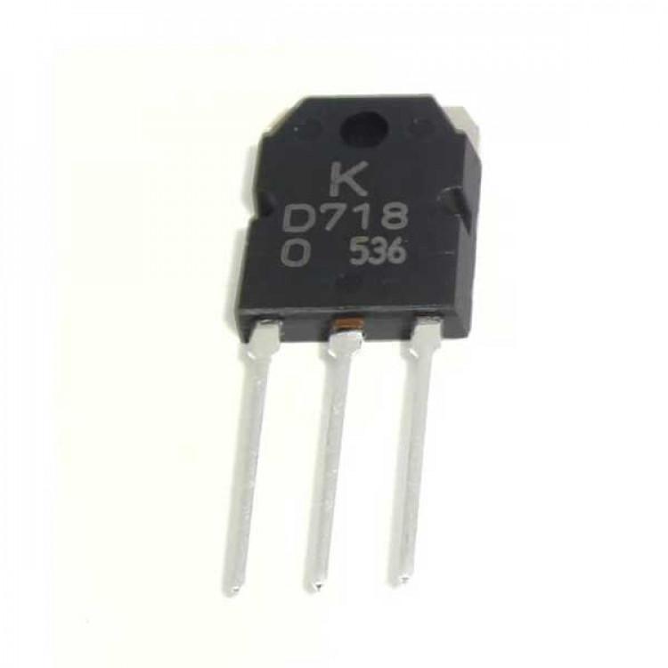 D718 NPN Power Amplifier Transistor