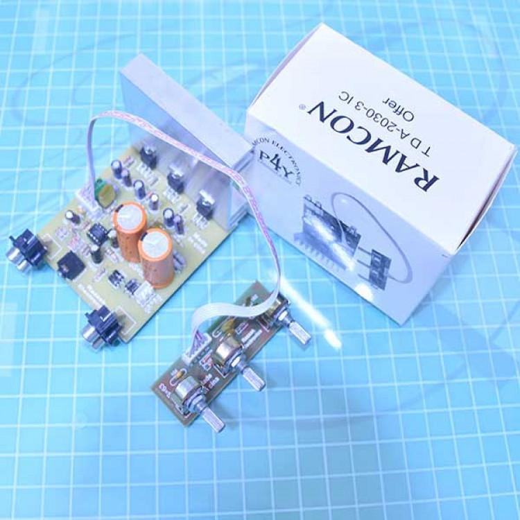 TDA2030_2.1 Home Theatre Audio Amplifier Board.