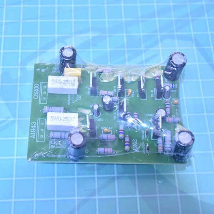 5200+1943_2 Transistor Mono Amplifier Board