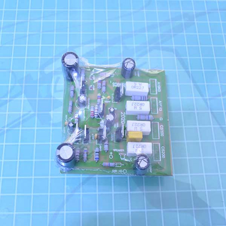 5200+1943_4 Transistor Mono Amplifier Board