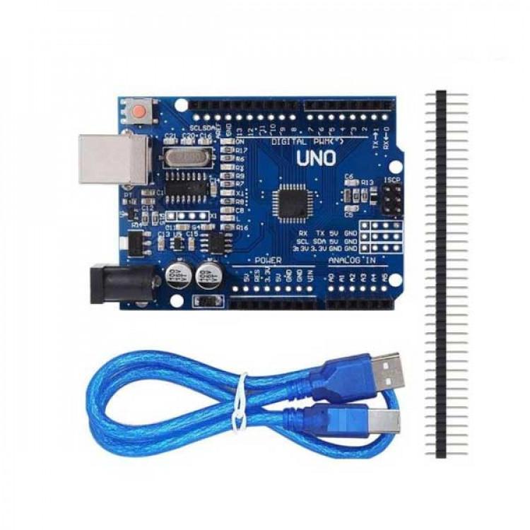 Arduino Uno R3_SMD IC Atmega328P