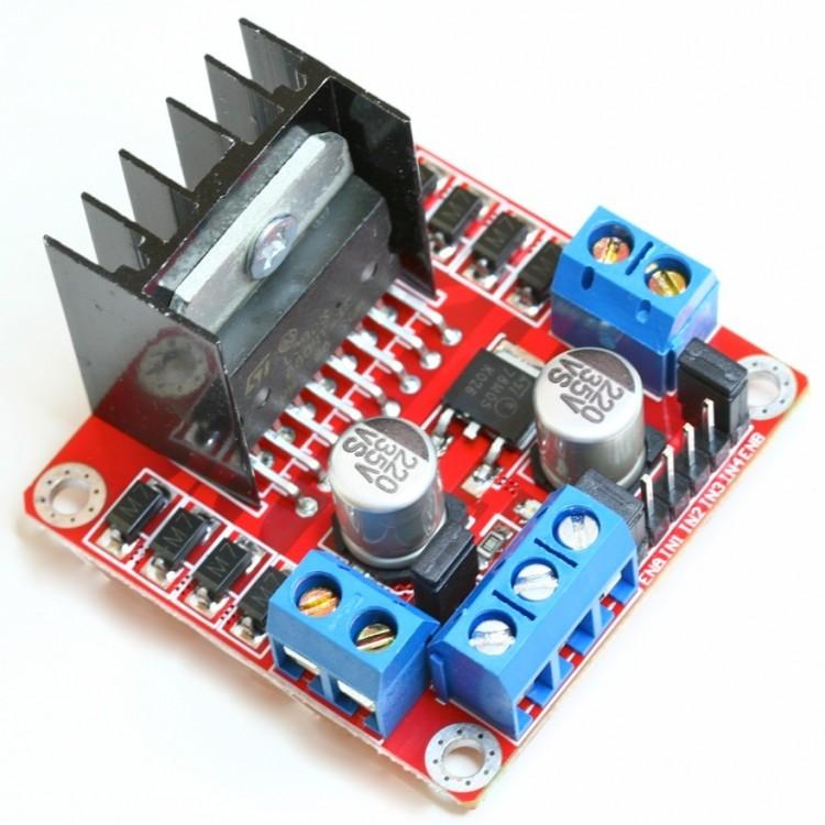 L298N DC Motor Driver Module