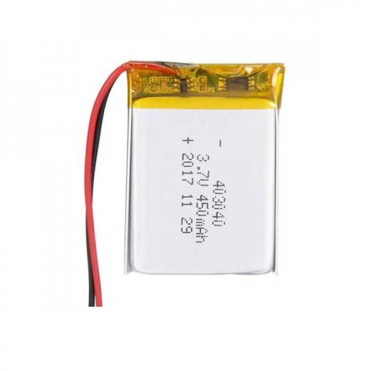 3.7 450Mah Li-ion Battery