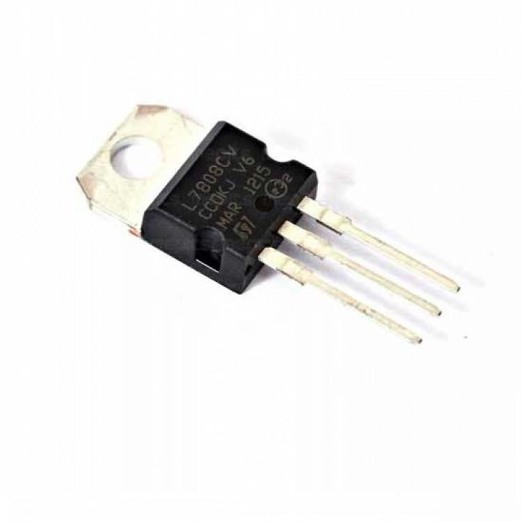 7808 8V 1A Fixed Voltage Regulator