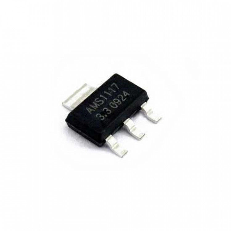 AMS1117T 3.3V Voltage Regulator_SMD