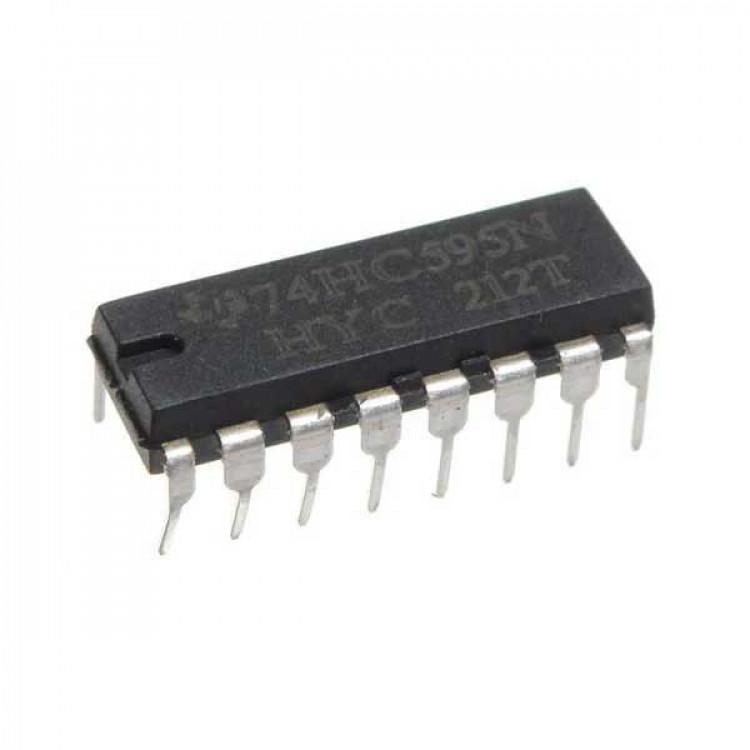 SN74HC595N/HC595 DIP-16 8 Bit Shift Register IC