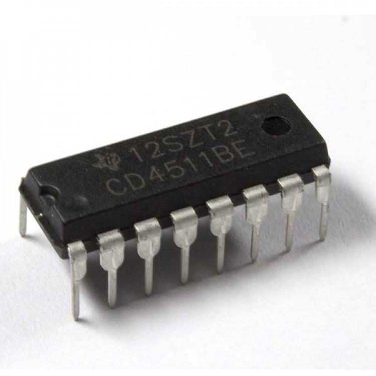 CD4511 7-Segment Driver IC