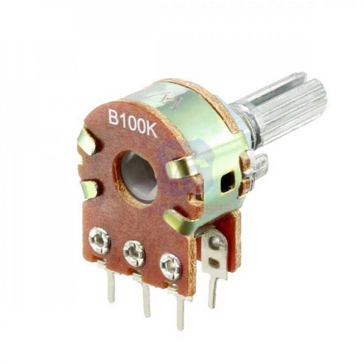 100K Variable Pot Resistor 6pin