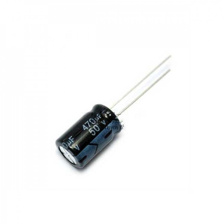 470uf/50V Electrolytic Capacitor