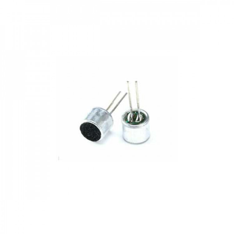Microphone Sound Sensor_2 Pin_Condenser Microphone _MIC
