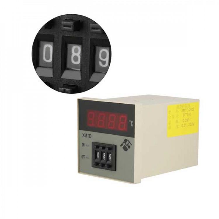 XMTD-2002 PID Digital Temperature Controller Microcomputer Thermostat 220V 0-399℃
