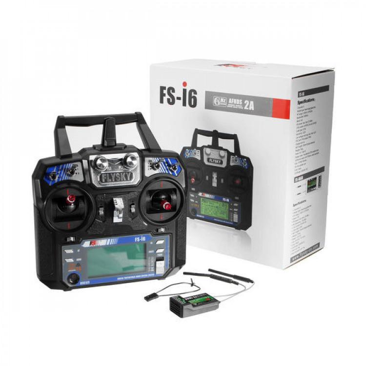 FlySky FS-i6 2.4G 6CH Transmitter With FS-iA6 Receiver
