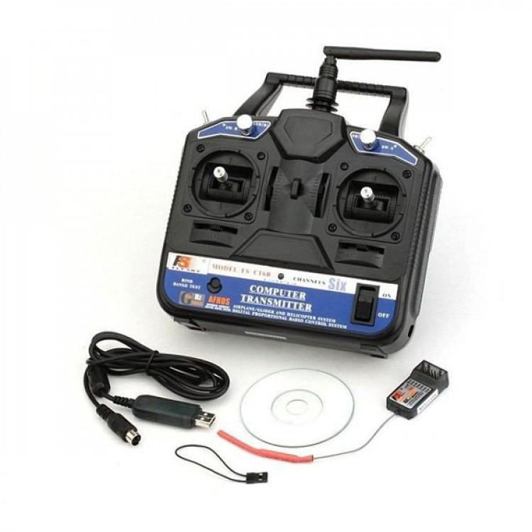 FlySky FS-CT6B 2.4GHz 6CH Transmitter With Receiver FS-R6B