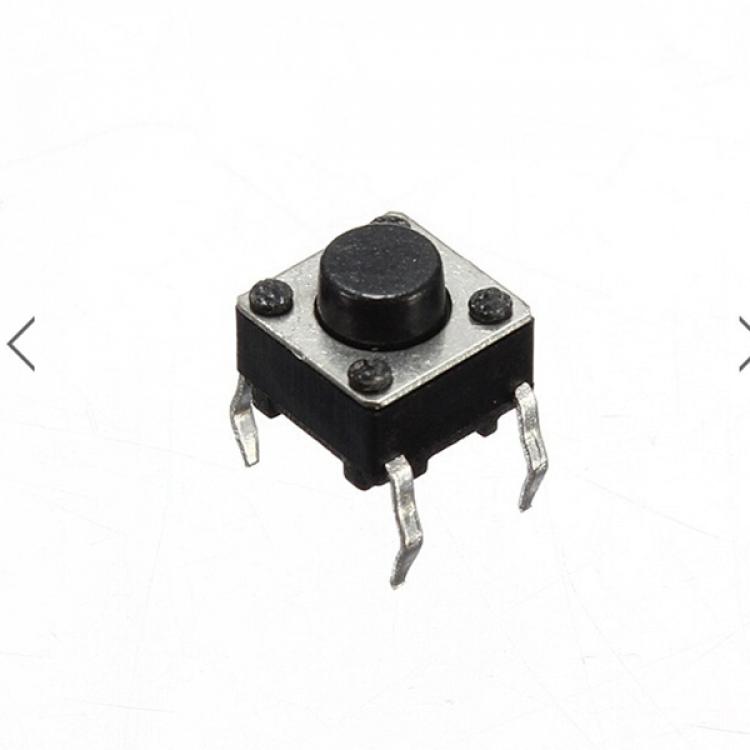 Black mini push button switch_ Dc 4pin