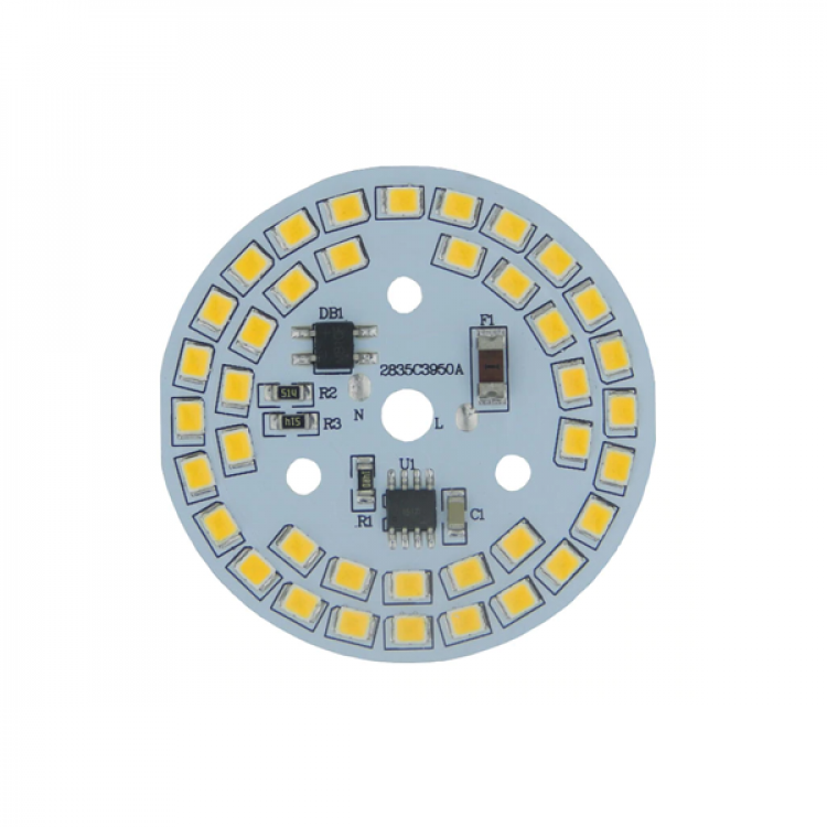 SMD LED Light Board_220V 12w