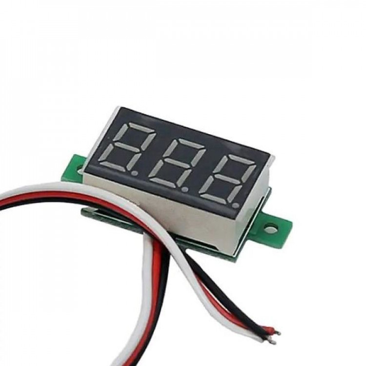 Digital DC Mini Volt Meter_Three Wire