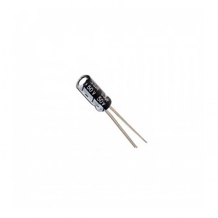 33uf/50V Electrolytic Capacitor