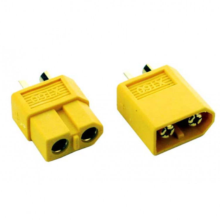 RC XT60 Connector (1 Male and 1 Female)