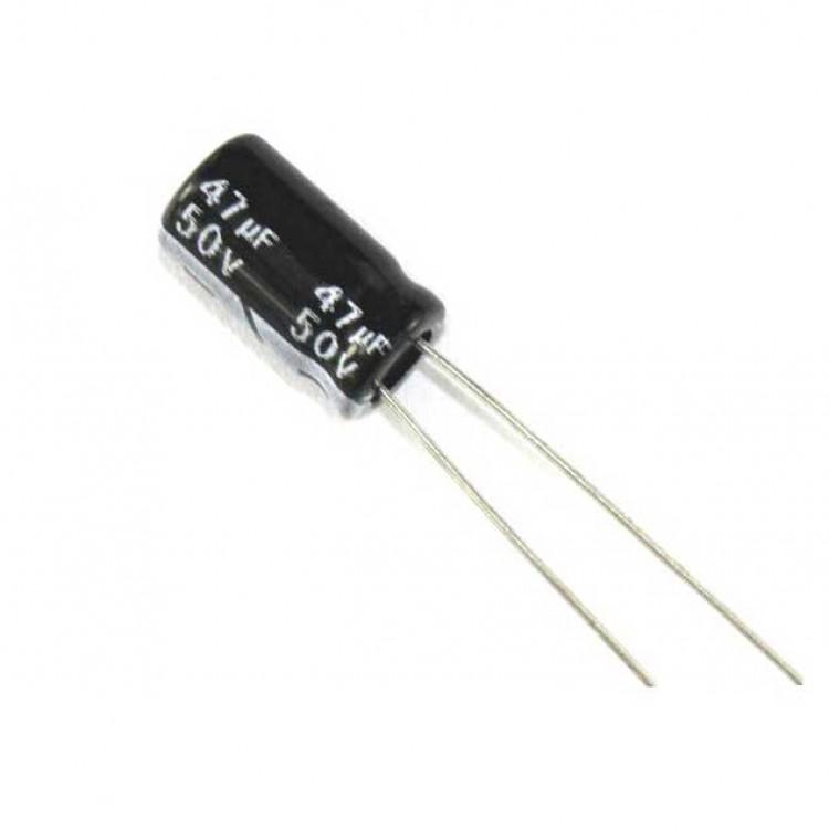47uf/50V Electrolytic Capacitor