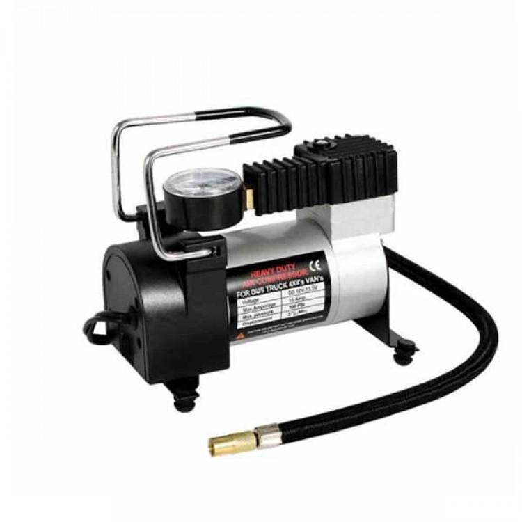 Mini Air Compressor_12 Volt 250 PSI_Metal Body