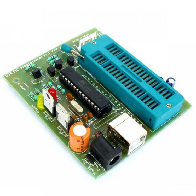 PIC Microcontroller USB Programmer_Burner