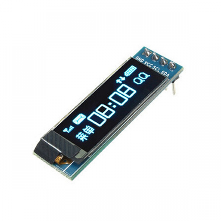 OLED Display 0.91'' 128X32 IIC I2C Blue