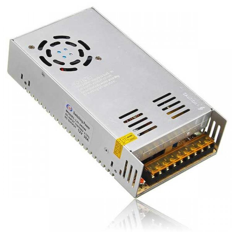 12V, 30A DC Power Supply (SMPS)