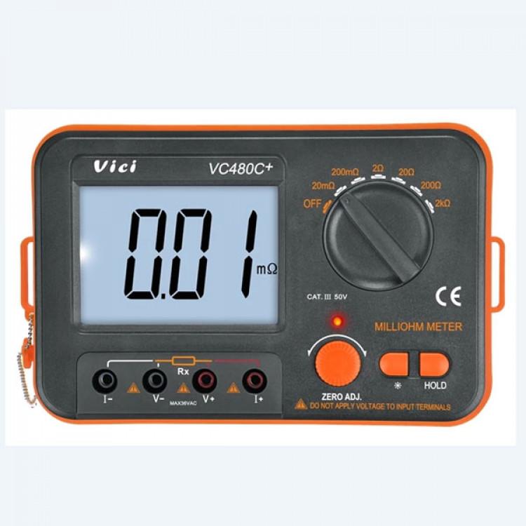 Vici Digital Milli-Ohm Meter_Vici VC480C+