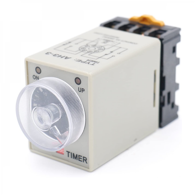 Timer relay 8 pole 5A 250VAC 60 seconds