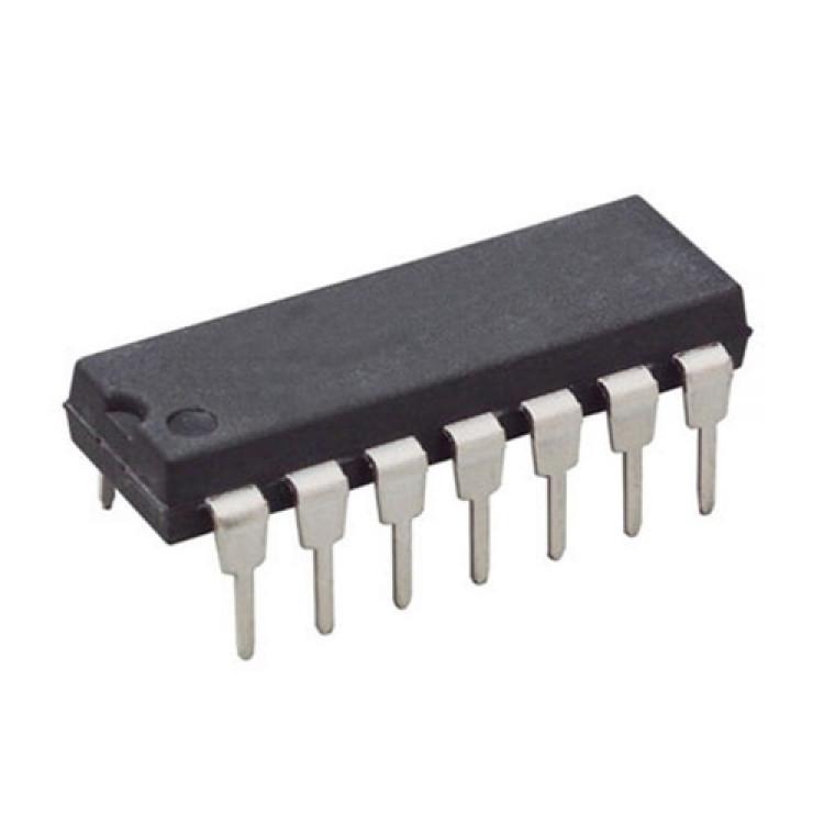 74266 Quad 2-input XNOR gate